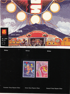 Norway Norge  2002 Europa: Circus,  Mi 1446-1447 MNH(**) In Souvenir Folder - Ongebruikt