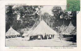 CÔTE D'IVOIRE   Un Village De La Zone Forestière .......... Très Bon état - Côte-d'Ivoire