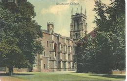 WINCHESTER COLLEGE WITH MICHELDEVER STATION POSTMARK - HANTS - Winchester