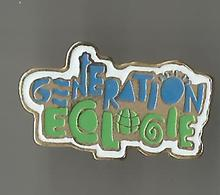 Pin's Génération Ecologie - Associations