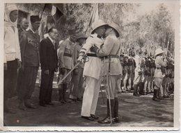 REF Photo 12 : Photo Originale 16 X 11 Cm - Photo Afrique Brazzaville ? 14 Juillet 1939 Soldat Colonie - Afrique