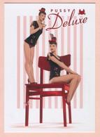 PUBLICITE : PUSSY DELUXE * Vive Maria * Forbidden Lingerie - Publicité
