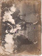 REF Photo 12 : Photo Originale 17,5 X 23,5 Cm - Photo Afrique CONAKRY ? Enfant Colon Colonie Sur Cheval Vers La Droite - Afrika