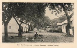 CÔTE D'IVOIRE   Rue Du Commerce  Grand Bassam  .......... Très Bon état - Côte-d'Ivoire