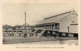 CÔTE D'IVOIRE   Cour De La Cie F.A.O à Grand Bassam  .......... Très Bon état - Ivory Coast
