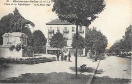 71SAONE ET LOIRE CHALON PLACE D ELA REPUBLIQUE - Chalon Sur Saone