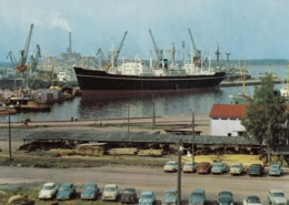VW Käfer,Opel Rekord A,Ford Anglia...Fährhafen Kotka,Satama,Finnland, Gelaufen - Voitures De Tourisme