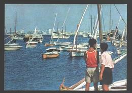 Alexandria - Eastern Old Harbour - Boat - Children / Enfants - Alexandrie