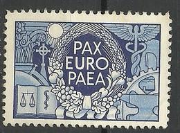 Vignette Pax Europaea - Erinnophilie