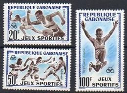 Gabun 1962 MiNr. 172/ 174  ** / Mnh ;  Sport - Gabun (1960-...)
