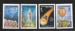 Turks & Caicos    **  643-646 Luftfahrt Katalog 5,00 - Turks & Caicos