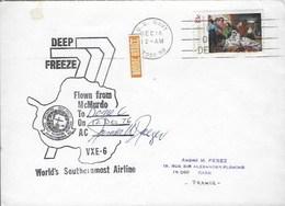 Deep Freeze -mc Murdoch Dome C 12 Decembre 1976 - Oblitérés
