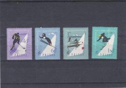 Poland 1961 Spartakiade 4 Stamps MNH/** (H25) - Non Classificati