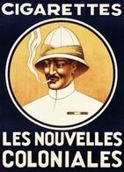 @@@ MAGNET - Cigarettes Les Nouvelles Coloniales - Publicitaires