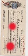 Charbonnages De La Minerie à Battice 1912 Adressé à Mr Dozot Entrepreneur à Cerexhe Heuseux - Lettres De Change