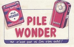 PILE WONDER - Lampe De Poche - Batterie - Löschblätter, Heftumschläge