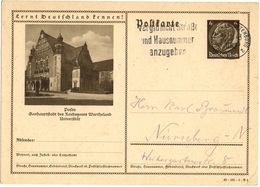 ALLEMAGNE REICH ENTIER Mi P236 OBLITERE - Allemagne
