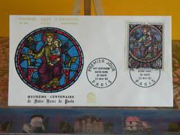 Notre Dame De Paris - Paris - 23.5.1964 FDC 1er Jour N°494 - Coté 9€ - 1960-1969