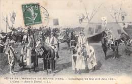 EVENEMENTS ( Fêtes ) 60 - COMPIEGNE - FETES DE JEANNE D'ARC 1911 : Le Camp Avant Le Tournoi - CPA - Oise - Evénements