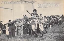 EVENEMENTS ( Fêtes ) 60 - COMPIEGNE - FETES DE JEANNE D'ARC 1909 Le Premier échevin Montrant La Lice Au Roi - CPA - Oise - Evénements
