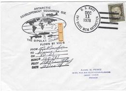 MC MURDO    Pole Sud  The Bipolar Squadron 11-DECEMBRE 1978 - Oblitérés