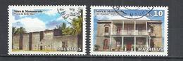 MAURITIUS 2013 - HOUSES - USED OBLITERE GESTEMPELT USADO - Maurice (1968-...)