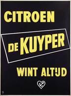 @@@ MAGNET - Citroen De Kuyper Wint Altijd - Publicitaires