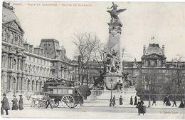 PARIS 75 SEINE PLACE DU CARROUSEL STATUE DE GAMBETTA EDIT. TARIDE.  JCT&DG - Squares