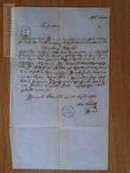 ZA172.2 Old Document -  Krásná Lípa   Schönlinde  Czechia - Děčín -  GOTTFRIED - 1870 - Naissance & Baptême