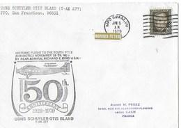 MC MURDO    Pole Sud  50 IEME ANNIVERSAIRE  1929-1979 (6 Juin 1979) - Ross Dependency (New Zealand)
