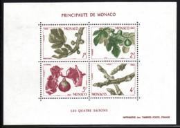 Monaco 1983 MNH Sc #1376 Fig Branch In Four Seasons - Monaco