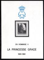 Monaco 1983 MNH Sc #1367 Princess Grace - Neufs