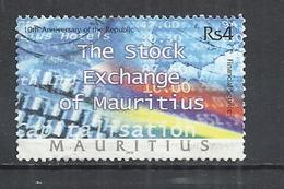 MAURITIUS 2002 -  FINANCIAL SERVICES -  USED OBLITERE GESTEMPELT USADO - Maurice (1968-...)