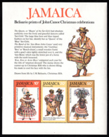 Jamaica 1976 MNH Sc #418a Belisario Prints Christmas - Jamaique (1962-...)
