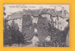 HARCOURT -27- Vieux Château - Vue Générale - Cachet Miltaire Au Dos - Harcourt