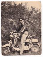 """MOTO - MOTORCYCLE  """" LAMBRETTA """"   - FOTO ORIGINALE - Automobili"""