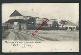 MOUSTIER. S/S Ateliers De Construction Rembaux.  Edit. De Roover.  2 Scans. - Jemeppe-sur-Sambre