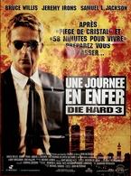 AFF CINE ORIG NEUVE 1 JOURNEE EN ENFER Die Hard 3 Bruce Willis J Irons 1995 - Posters