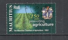 MAURITIUS 2003 - CHAMBER OF AGRICOLTURE ANNIVERSARY  -  USED OBLITERE GESTEMPELT USADO - Mauritius (1968-...)
