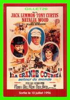 AFFICHES DE FILM - LA GRANDE COURSE AUTOUR DU MONDE DE BLAKE EDWARDS, 1996 -  JACK LEMMON, TONY CIURTIS, NATALIE WOOD - - Séries TV