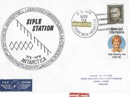MC MURDO    Pole Sud   Siple Station 24 NOVEMBRE 1979 - Oblitérés