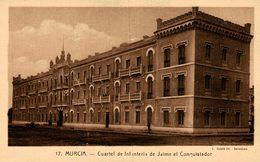 CARTAGENA. CUARTEL DE INFANTERIA DE JAIME EL CONQUISTADOR - Murcia