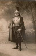 Photo Ancienne /carte Photo  Militaria Cavalerie Française  Militaire D'un Régiment De Cuirassés En Grande Tenue 1914-18 - Guerre, Militaire
