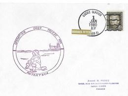 MC MURDO    Pole Sud    Opération Deep Freezer 80 USCGC GLACIER 1 JANVIER 1980 - Ross Dependency (New Zealand)