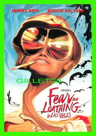 AFFICHES DE FILM - FEAR AND LOATHING IN LAS VEGAS, 1998 WITH JOHNNY DEPP & BENICIO DEL TORO - - Séries TV
