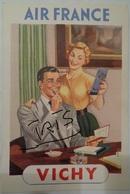 CPAC73 - PUBLICITE AIR FRANCE VICHY - Publicités