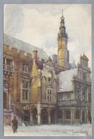 NL.- HAARLEM. Naar Aquarel J. Setelik. 1944 - Schone Kunsten