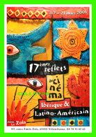 AFFICHES DE FILM - 17e REFLETS DU CINÉMA IBÉRIQUE & LATINO-AMERICAIN 2001 - CINÉMA LE ZOLA, VILLEURBANNE (69) - - Séries TV