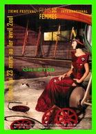 AFFICHES DE FILM - 23e FESTIVAL FILMS DES FEMMES 2001 - MAISON DES ARTS, CRÉTEIL (94) - - Séries TV