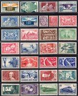 Lot De Timbres De 1924 à 1938 (cote: 560,70 €, Vendu à 75 €) Neuf * Gomme D'Origine TB - Ongebruikt